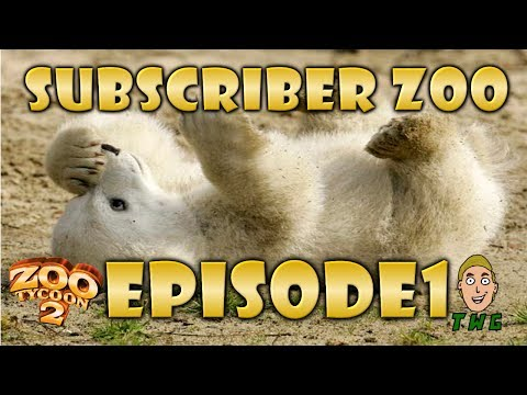 Subscriber Zoo (Zoo Tycoon 2) - Episode 1 Gorillas