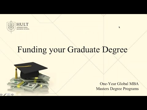 Hult Financial Aid Webinar: Funding your Graduate Degree