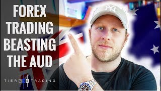 RARE Real Forex Trading - Beasting the AUD