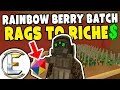 Rainbow Berry Batch - Unturned Roleplay Rags to Riches #73 (Growing Berries As A Job)