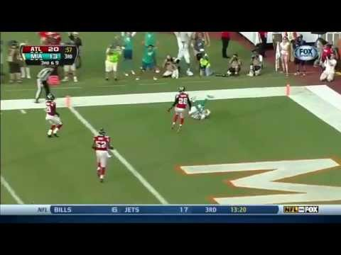 Ryan Tannehill throws 24 touchdown passes in 2013 for Miami Dolphins