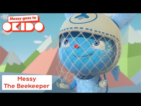 Messy Goes To Okido | MESSY THE BEE-KEEPER | COMPILATION | Cartoons For Children | Funny Cartoons