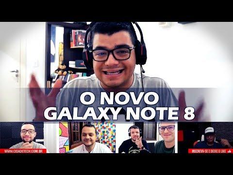 Samsung Galaxy Note 8 o melhor smartphone de 2017?