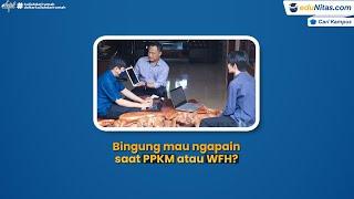 Bingung Mau Ngapain Saat PPKM atau WFH? Manfaatkan Waktumu di Edunitas.com~