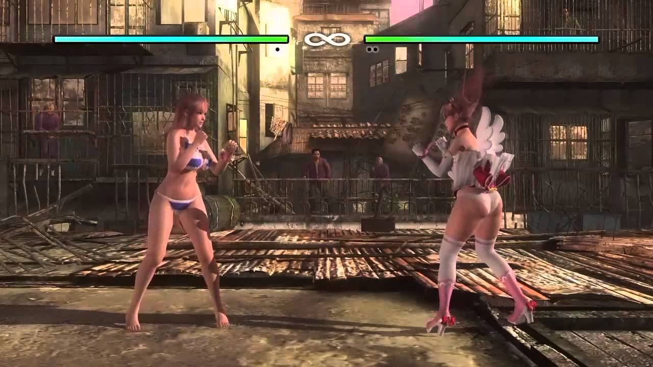 Dead or alive 5 last round gravity glitch on all characters