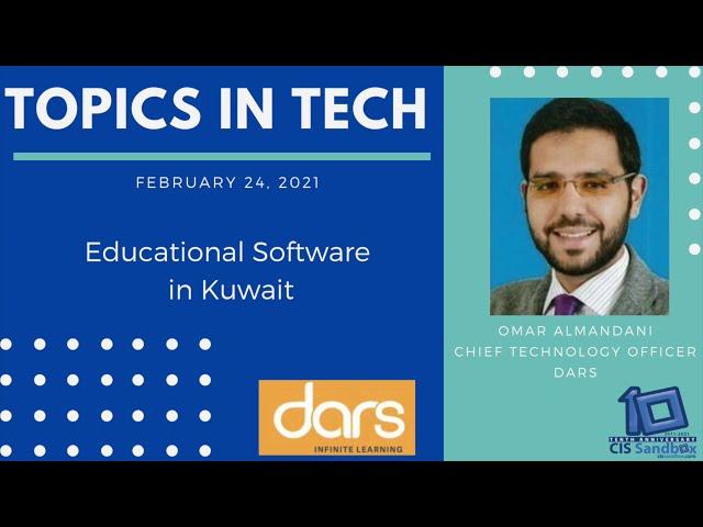 Omar Almadani (Dars) - Topics in Tech