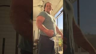Randall Morris Pec and Bicep Flex