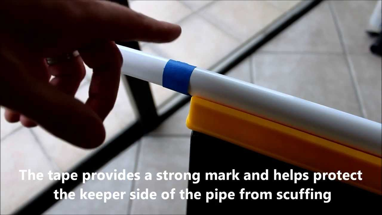 Tip For Marking And Cutting Metal Closet Poles