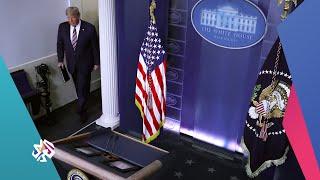لماذا قطعت شبكات تلفزيونية أميركية بث كلمة لترمب عن نتائج الانتخابات الرئاسية؟ | أخبار العربي