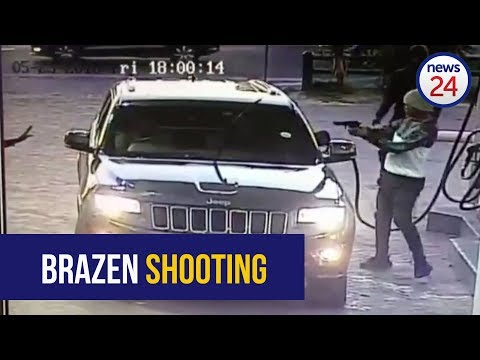 WATCH: Brazen shooting at Caltex garage in Delft, Cape Town
