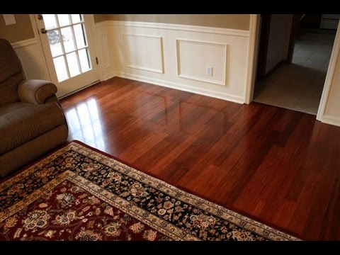 Bamboo Flooring vs Hardwood - YouTube