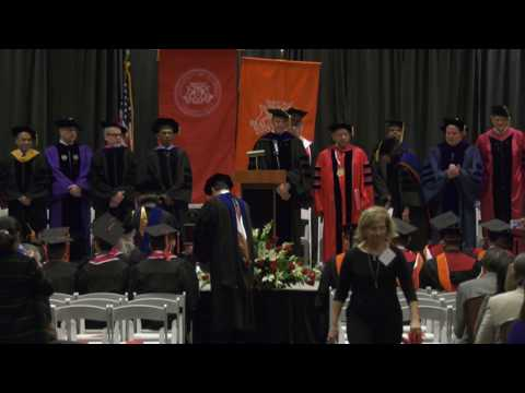 2017 Fall - Cullen College of Engineering Graduation Ceremony