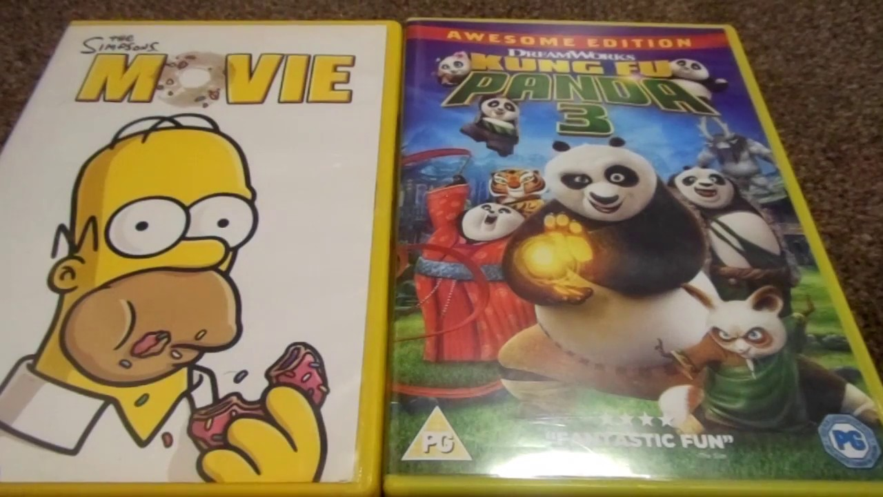 The Simpsons Movie And Planes Fire And Rescue Uk Dvd Unboxing By Samdjanreviews