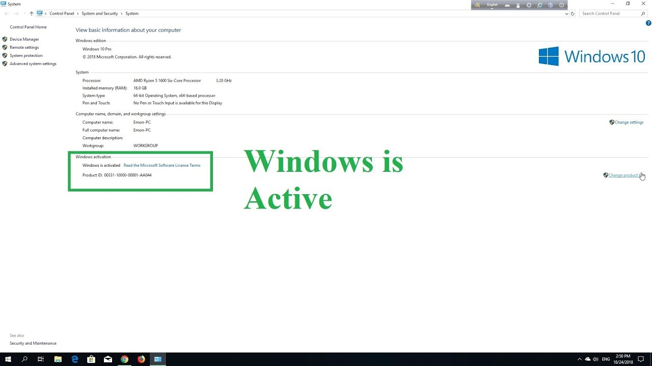 windows 10 pro activator