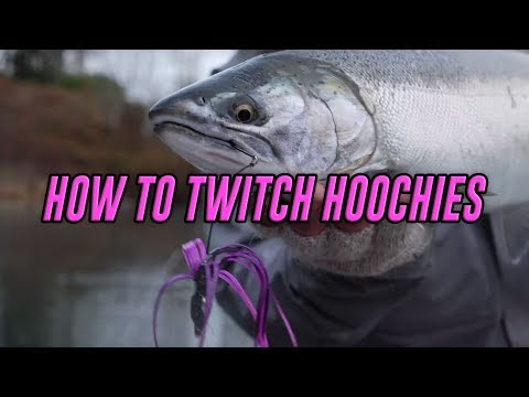How To Twitch Jigs For Coho & Chinook Using Hoochies