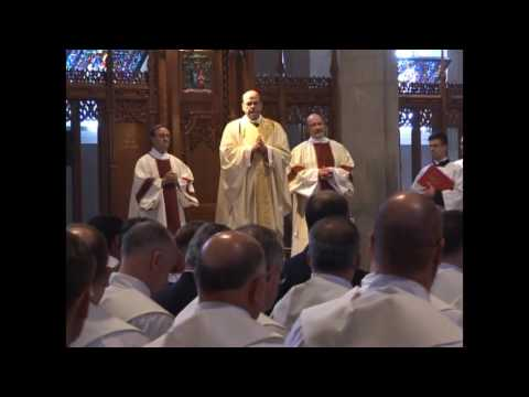 Fr. Bernard Menard Ordination part one  5-26-07