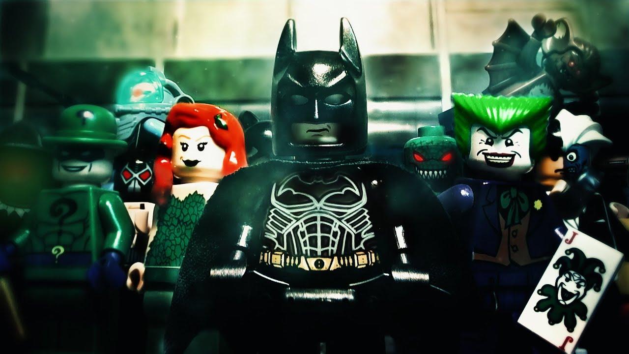 Batman Arkham City Lego
