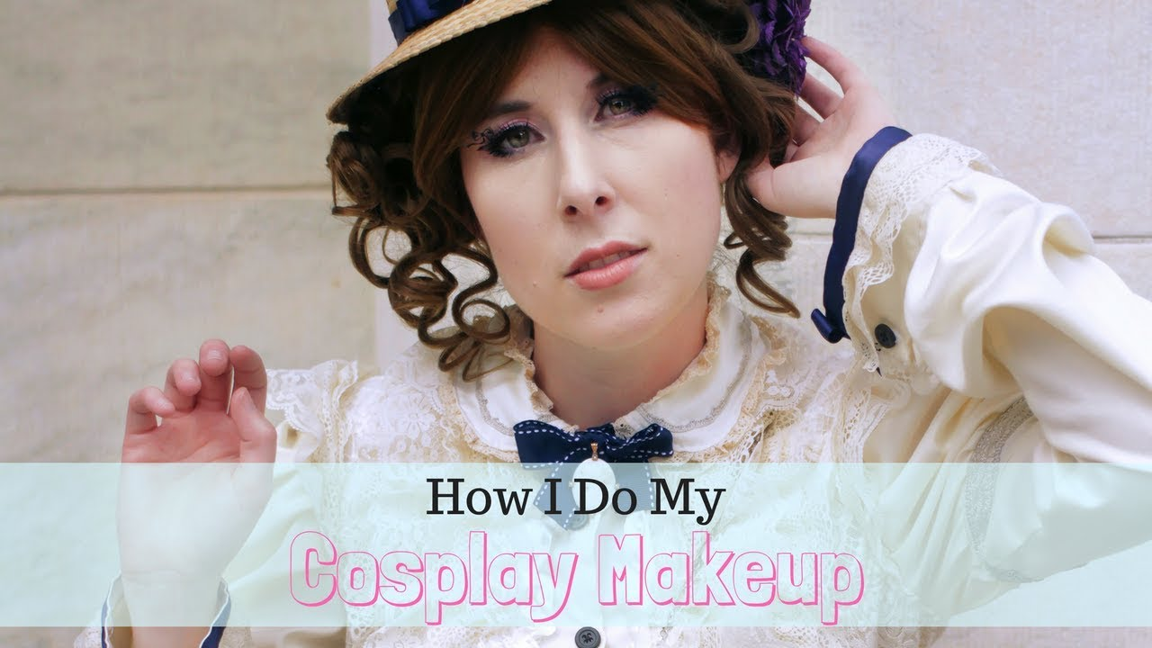 How I Do My Cosplay Makeup - YouTube