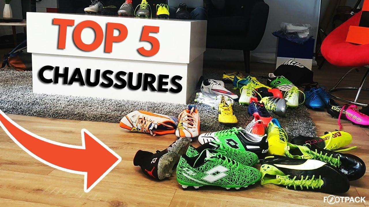 Le TOP 5 de notre collection de chaussures de football !