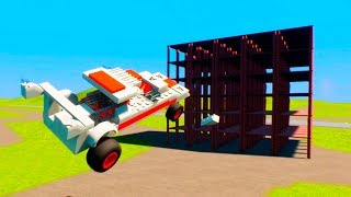 Collapsing Building Construction | Brick Rigs