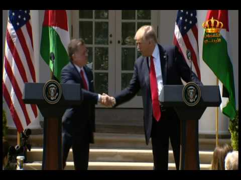 English News at Ten on Jordan Television 05-04-2017