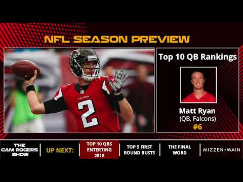 NFL Season Preview: Top 10 Quarterbacks Entering 2018
