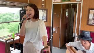 歌:小山田純加 ギター:野口貴史.