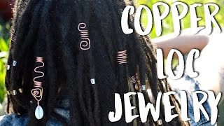 DIY Copper Hair Jewelry | All Hair Types