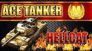 Hellcat ACE TANKER -Live commentary-   World of Tanks Blitz  