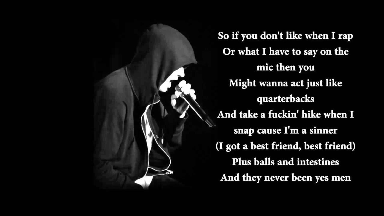 Yelawolf ft. Eminem - Best Friends [Official Lyrics] - HD ...