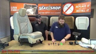 GMC Acadia / Buick Enclave / Saturn Outlook / Chevrolet Traverse Driver Bottom and Top Install Video