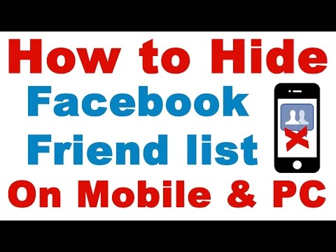 how to make fb friends list private on ipad