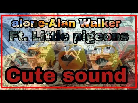 Little and cute pigeons singing Alone by Alan Walker Cute sound Fantastic Bro