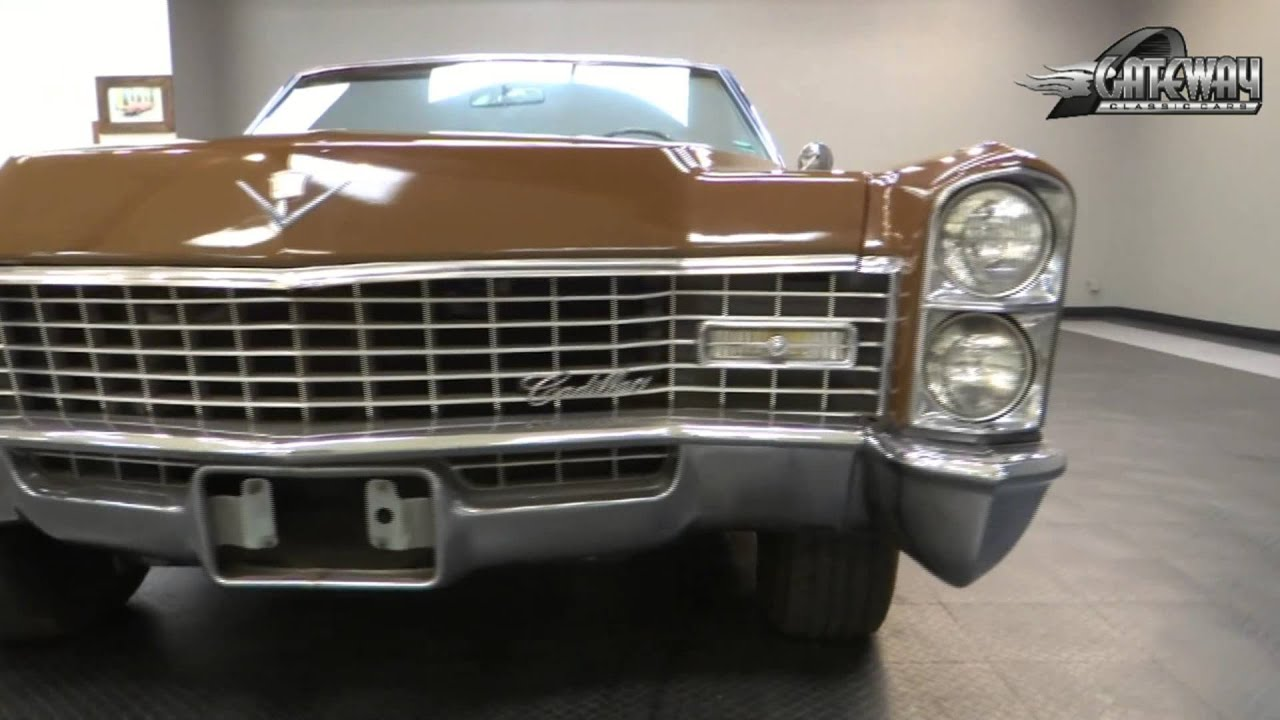 1967 Cadillac Deville Convertible for sale at Gateway Classic Cars ...
