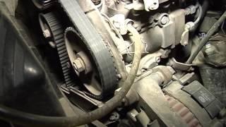 Замена помпы в дизельном двигателе 08 09 2016