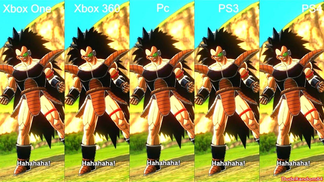 Dragon ball xenoverse ps4 vs ps3 vs pc vs xbox one vs xbox 360