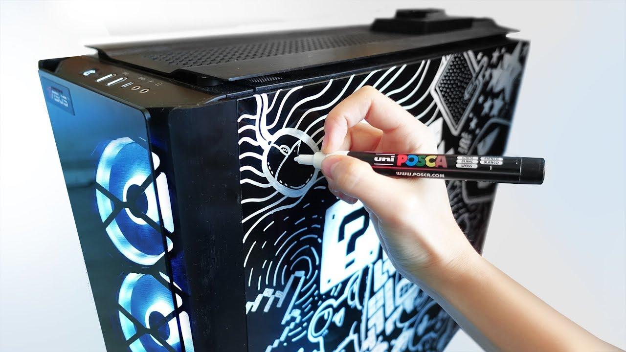 Doodle sul mio nuovo PC (sì, ci sto prendendo gusto) 🐸 Fraffrog