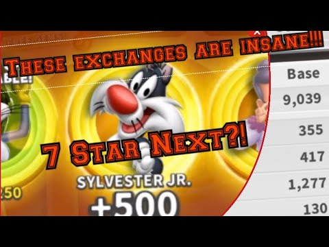 Looney Tunes World Of Mayhem   Sylvester Jr. Day 2! ANOTHER CRAZY EXCHANGE?!