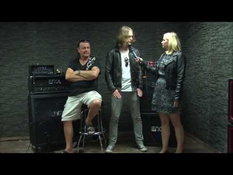 Sam Coulson and John Wetton Interview at ENGL HQ