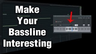 How to make Bassline Interesting with Fruity Keyboard Controller - EDM Drop Tutorial Part 3