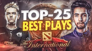 TOP-25 Best Plays oḟ TI10 The International 10 - Dota 2