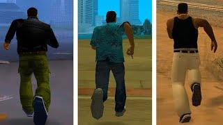 Walking Across Every GTA Map Takes HOW LONG?