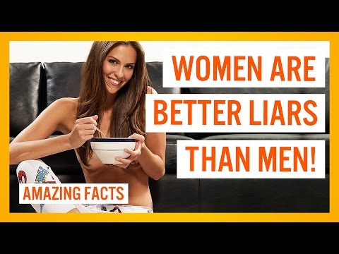 WOMEN ARE BETTER LIARS THAN MEN! – TOP 10 AMAZING FACTS #16
