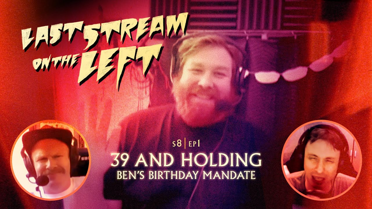 Last Stream On The Left S8 Ep1 39 And Holding Adult Swim Youtube Holden found himself alone in the podcast palace studio, henry and marcus told him that they had a surprise for him. last stream on the left s8 ep1 39 and holding adult swim