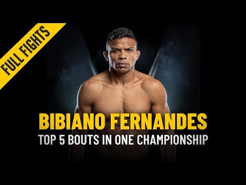 ONE: Full Fights   Bibiano Fernandes' Top 5 Bouts