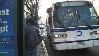 mta bus novabus rts 9349 on q39 thomson van dam st