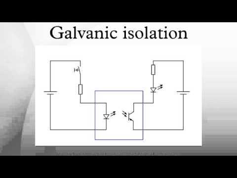 Galvanic isolation on