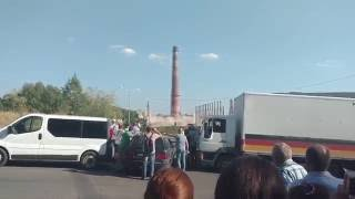 Труба на львівському заводі вистояла в боротьбі підривниками-коммунальшиками