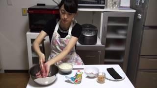 Японское блюдо - Онигири (колобок из вареного риса)