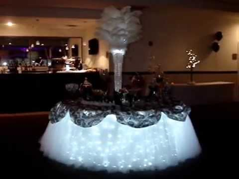 Tulle Fairy Table Cloth Linens By Sweet 16 Candelabras ...